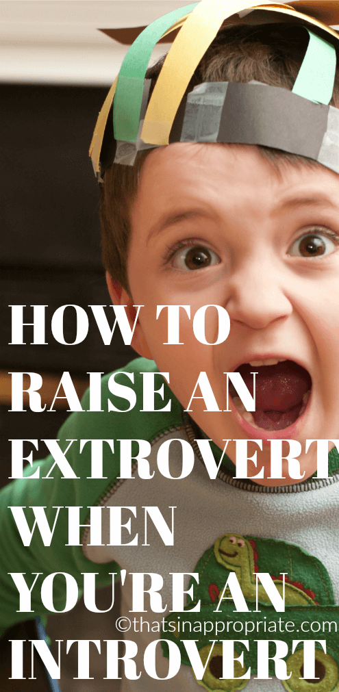Parenting when you're an introvert can be exhausting, but parenting an extrovert can even be more tiring. This is how one mom deals with parenting an extroverted child as an introvert. #extrovert #introvert #parenting #motherhood #parenting #momlife""