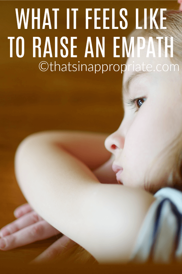 """My daughter is an empath. An ultra-sweet, ultra-sensitive, caring and warm, empath. This is what it's like to raise an empath. #momlife #empath #raisingkids #kids #parenting #momlife #motherhood"""""""