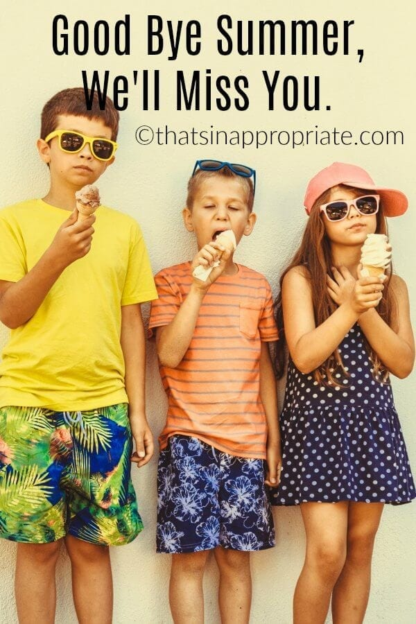 Summer is hard for parents, but it's also full of wonderful memories. Summertime means more free time, lazy days, and spontaneous adventures. This post about all the wonderful things that summer brings will having you craving summertime with your kids. #momlife #summer #summerdays #summertime #summervacation #kids #parenting #motherhood #parenthood