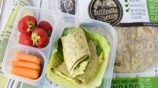 La Tortilla Factory Egg Salad Wrap