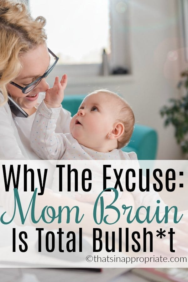 Moms hear all the time the excuse Mom brain and it takes on a very negative connotation. Here's why we should actually be celebrating our mom brains and all they can do. #mombrain #momlife #motherhood #parenting #mommy #mom #kids #humor