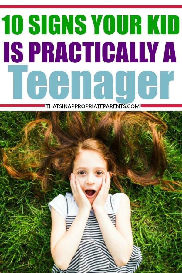 It's always surprising when your kid gets a little older and starts showing signs that they are growing up. But, what if they are only six years old? This hilarious post about kids with a little attitude is spot on. #momlife #teens #teenagers #threenager #funny #humor #parenting #kids #childdevelopment