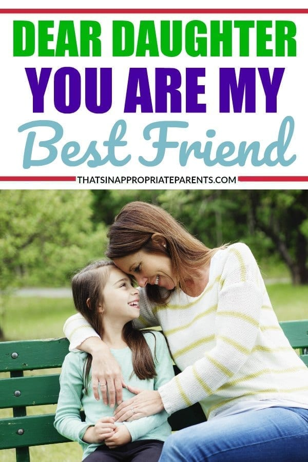 The relationship between a parent and child is a complicated one, but this is one mom's take about why she has no shame calling her daughter her best friend. #bestfriends #momlife #parenting #motherhood
