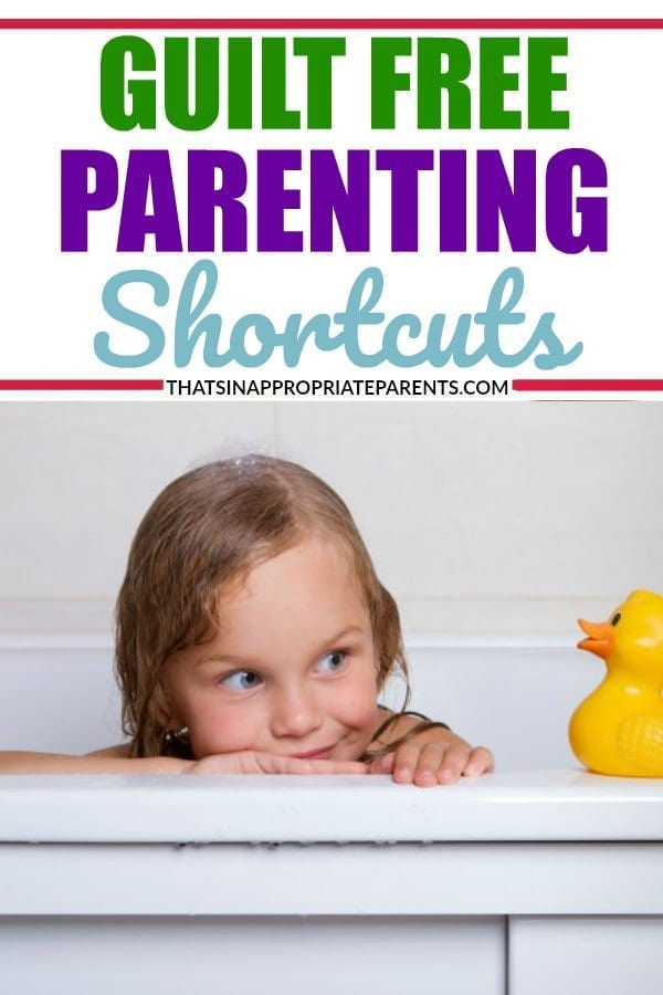 Parenting is a lot of work, but these parenting shortcuts are ones that will make your life easier. Sometimes we overcomplicate parenting. So, let's make it easier. #parenting #momlife #humor #funny #parentinghacks #parentingshortcuts #momhacks