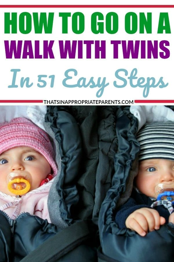 If you have twin babies, toddlers or all of the above, you'll laugh at this hysterical post about how to go on a walk with twin babies. and a toddler in tow. #toddlers #babies #newborns #twins #twinbabies #motherhood #momlife #funny #humor