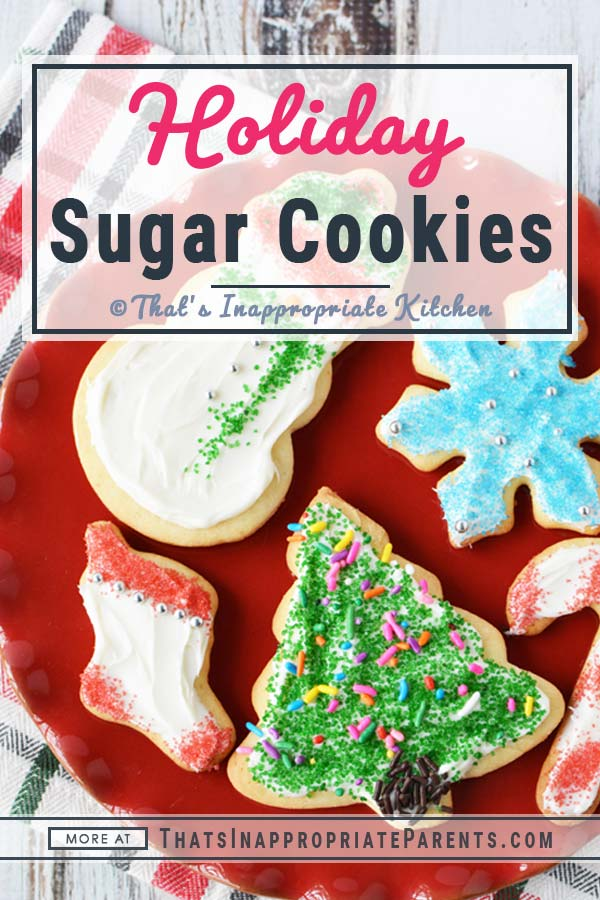 Soft Holiday Sugar Cookies