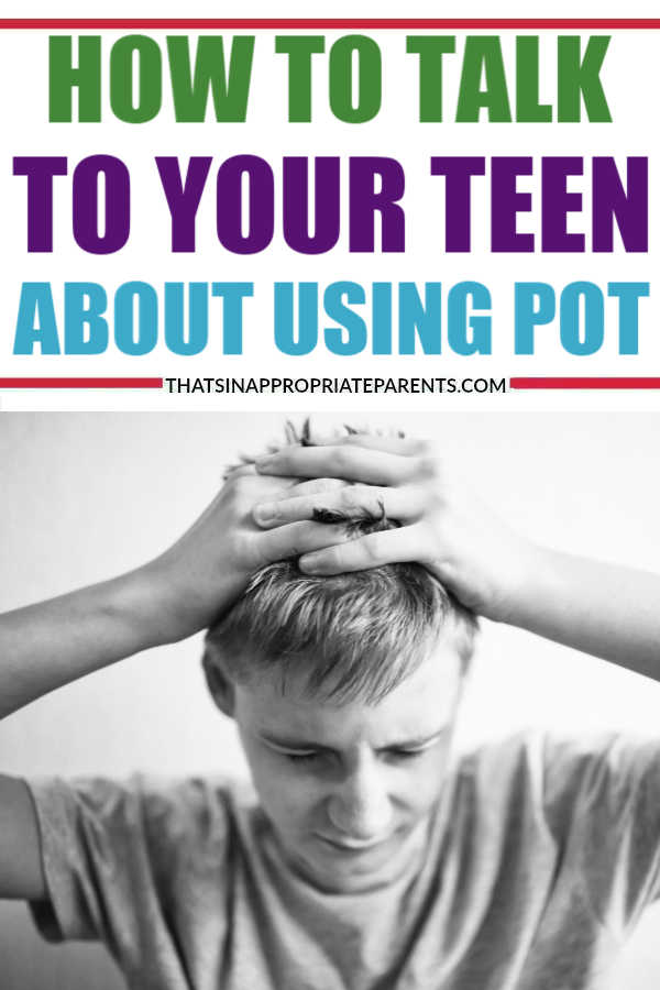 With marijuana becoming legal in more and more places, it's important to understand how to talk to our teenagers about pot just like we would about their alcohol use. Know the facts vs. the myths with this honest post on how to talk to your teen about pot. #pot #marijuana #teens #teenagers #momlife