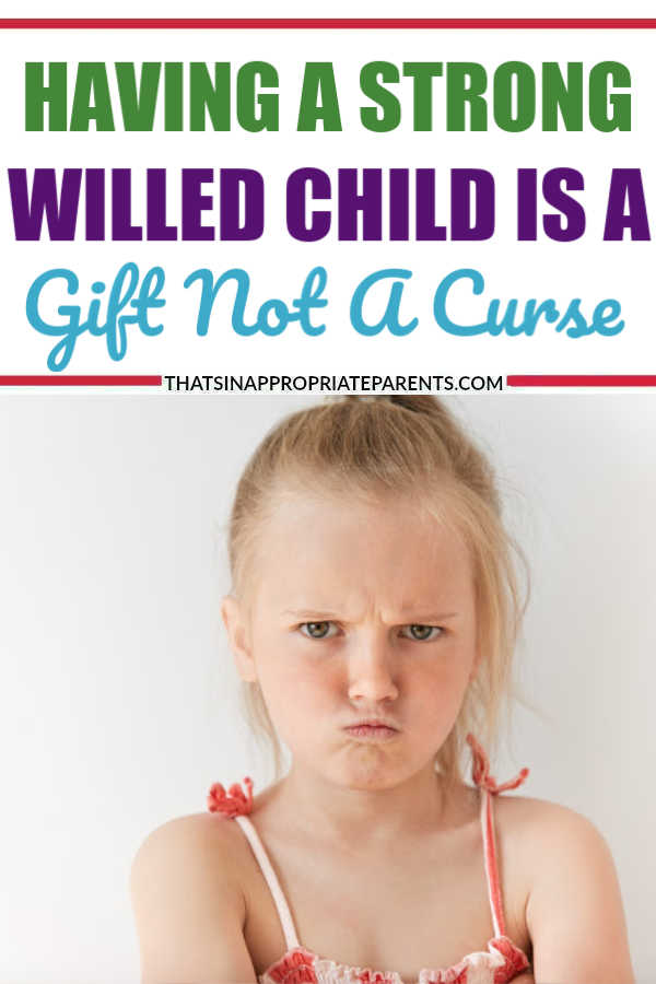 Raising a strong willed child is hard, but it's really a blessing in disguise. Here's why raising a strong willed child is a blessing, not a curse. #strongwilled #raisingkids #momlife #filterfreeparenting