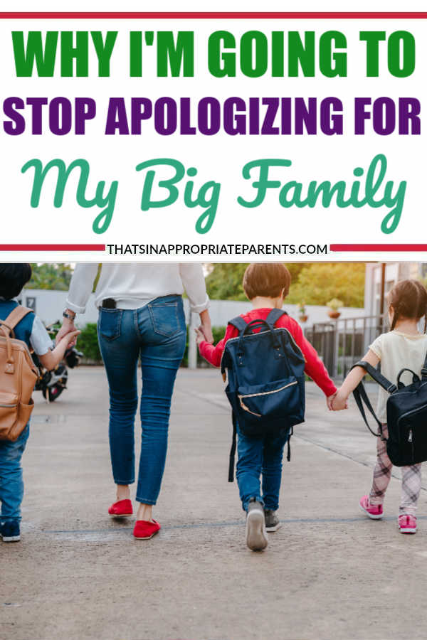 I Won't Apologize For Having A Big Family | Filter Free Parents