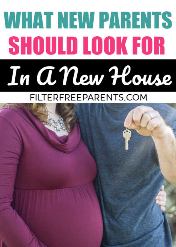 When you're shopping for a new home, it's important to have realistic expectations of home ownership, and what you REALLY need when you're a new parent. #momlife #filterfreeparents #HGTV #humor #funny #homeownership