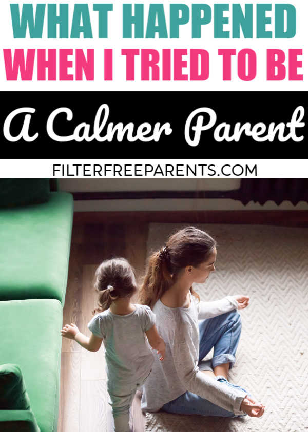 Here's what happened when I tried to relax, do some self care, exercise and become a calmer person all while being a mom. #filterfreeparents #momlife #parenting #selfcare #motherhood #humor #funny