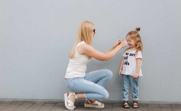 Whether you are a girl mom or a boy mom - you get what you need as a mom too. Here's how looking back I realized I was meant to be a girl mom all along. #girlmom #boymom #filterfreeparents