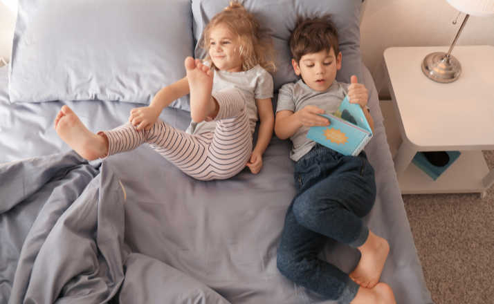 If your whole life feels over run by kids' crap, you aren't alone How do you get your bedroom back after kids? #cosleeping #kids #parenting