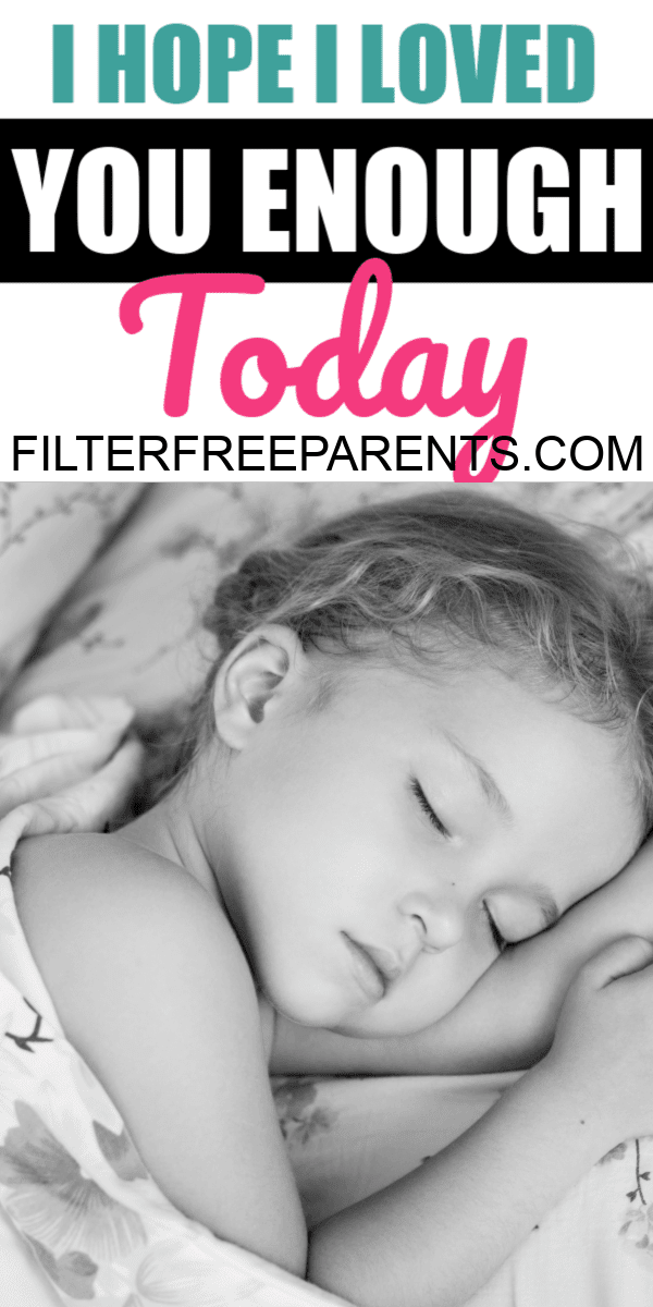 As you lay sleeping in your bed, the weight of today lifts from my shoulders. The struggles of the day are quickly forgotten and I find myself looking at you in wonder. Memorizing your face and the dimples in your fingers. I want to rewind the day and tell you how good you did. #parenting #motherhood #filterfreeparents