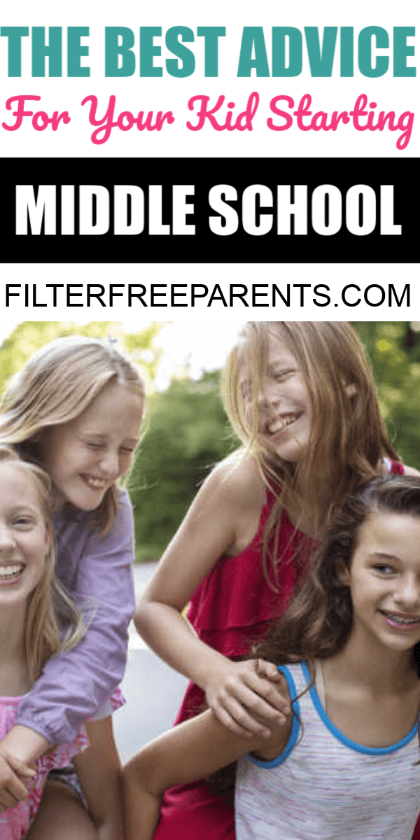 The middle school or junior high years are some of the toughest. But, they also get a bad rap. Here's the best advice to give to your middle schooler before they start.