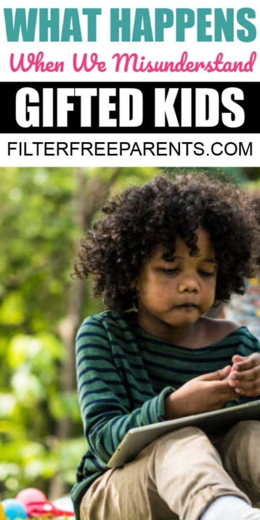 Gifted kids exist in every culture, and it's important that we recognize the signs of a gifted child. Because here's what happens when we don't. #gifted #giftedkids #giftedness