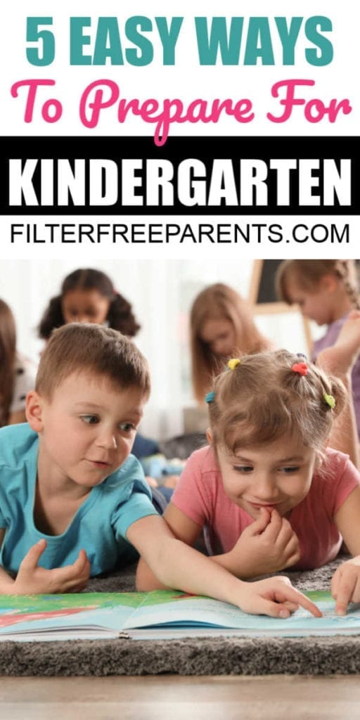 Preparing for kindergarten doesn't have to be complicated! Check out these 5 simple activities to make kindergarten prep at home a breeze. #kindergarten