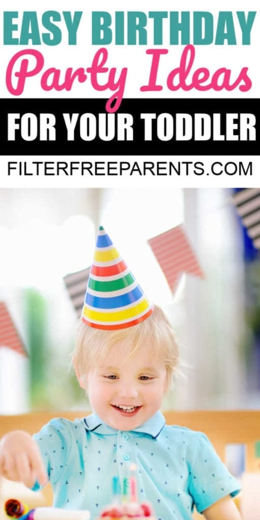 Toddler birthdays don't have to be painful or expensive. Check out these novel toddler birthday party ideas and celebrate without driving yourself crazy!