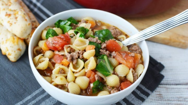 Delicious Hamburger Soup