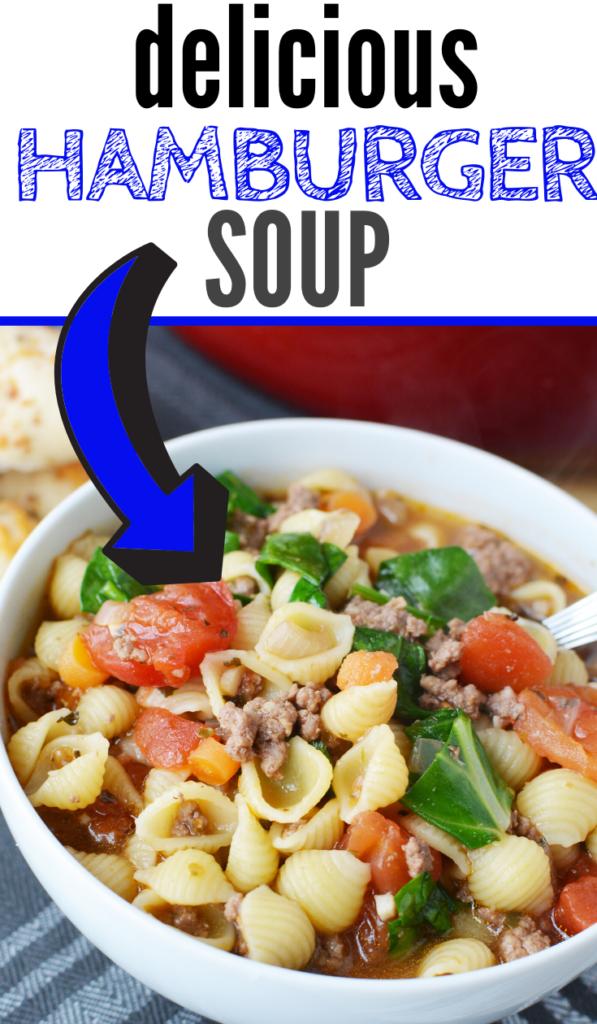 delicious hamburger soup recipe