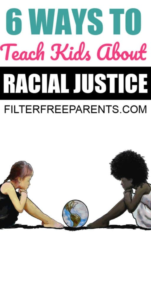 We've put together a list of actionable ways that parents and kids can work together to help end racism through education, raising awareness, and getting involved in local communities. #race #racism