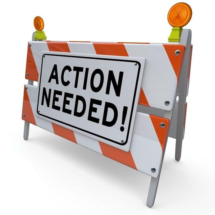 social media calls to action