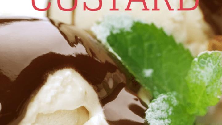 Vanilla Bean Frozen Custard