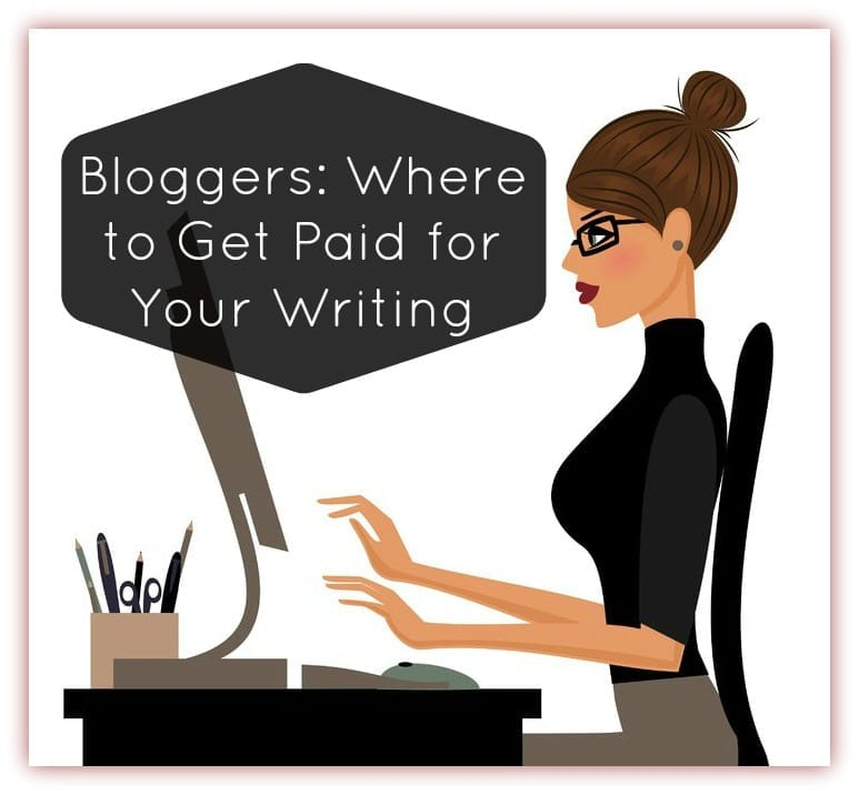 Where to Get Paid for Your Writing