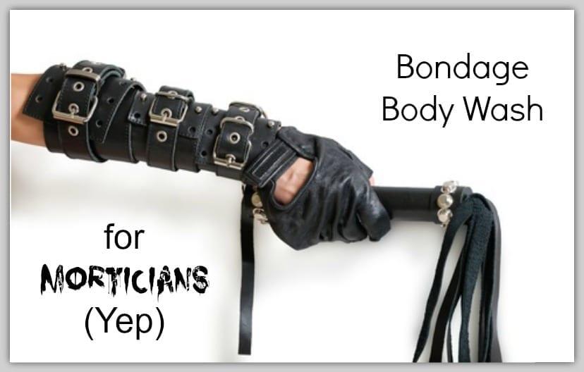 bondage body wash