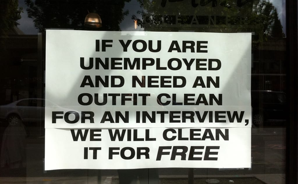 speaking to the unemployed
