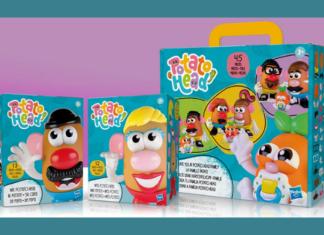 Potato Head product image and description from Hasbro.